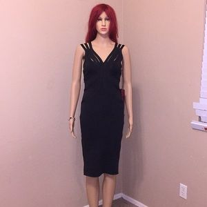 WOW COUTURE black strappy dress